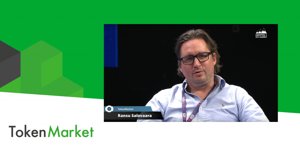 Ransu Salovaara, TokenMarket CEO and Co-Founder