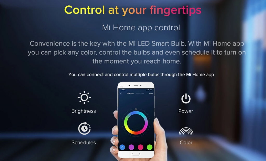 Xiaomi's Mi LED Smart Bulb To Go On Crowdfunding In India On April